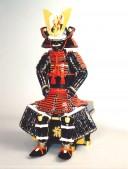 【鎧兜甲冑 端午の節句鎧 五月人形】赤糸威伊予札子供具足 稚児鎧