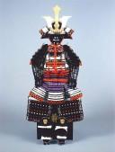 【鎧兜甲冑 端午の節句鎧 五月人形】毛利元就鎧写し 稚児鎧