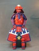 【鎧兜甲冑 端午の節句鎧 五月人形】真田幸村 当世具足写し 稚児鎧