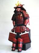 【鎧兜甲冑 端午の節句鎧 五月人形】黒糸威 伊予腰取 二枚胴稚児鎧