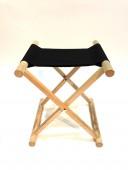 【鎧兜甲冑/小道具】床机椅子/黒生地(しょうぎいす)