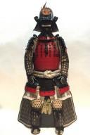 【鎧兜甲冑】黒糸威 頭形兜 山道頭札 二枚胴具足